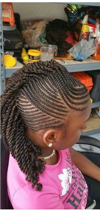 The Best Little Girls Braided Mohawk Hairstyles For Little Girls Pictures
