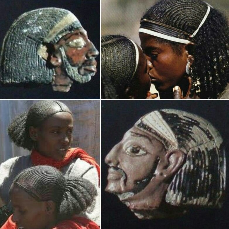 The Best Ancient Amorrite Syrian Cornrowed Braids Hairstyle Worn Pictures