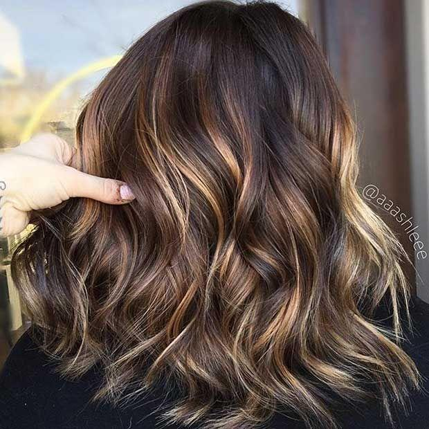 The Best 27 Stunning Blonde Highlights For Dark Hair Subtle Pictures