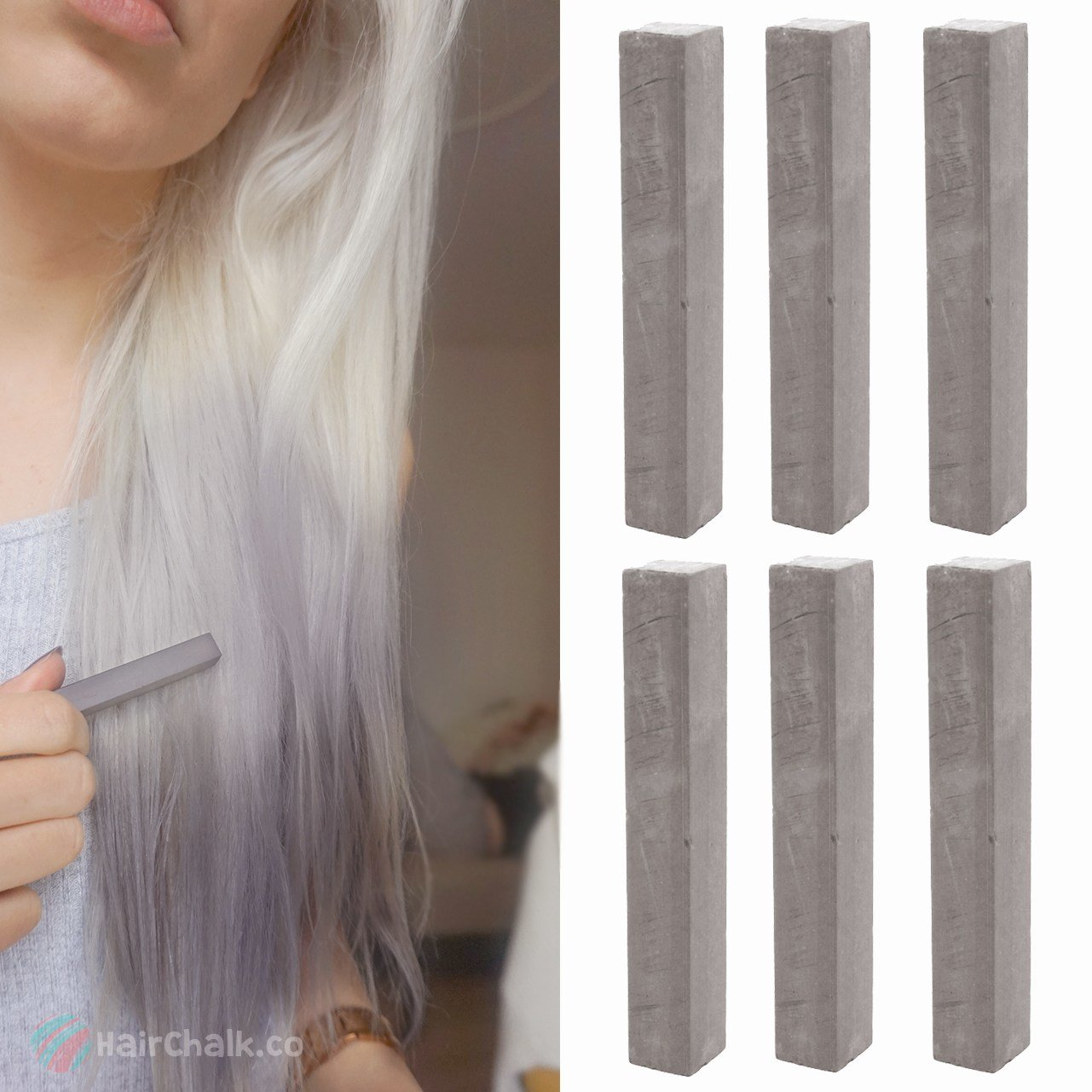 The Best Best Ash Gray Hair Dye Set Cloudy 6 Dark Grey Hair Pictures