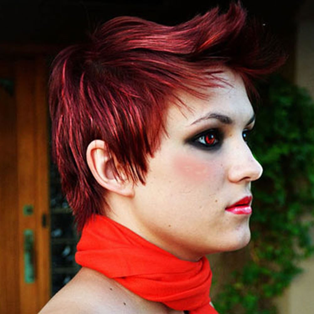 The Best 2018 Red Hairstyles – Red Short Hair Ideas Colours For Pictures