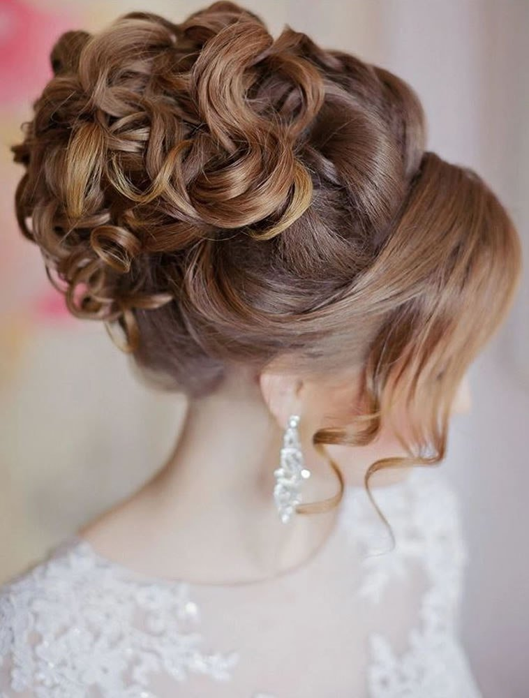 The Best 2018 Wedding Updo Hairstyles For Brides Hair Colors For Pictures