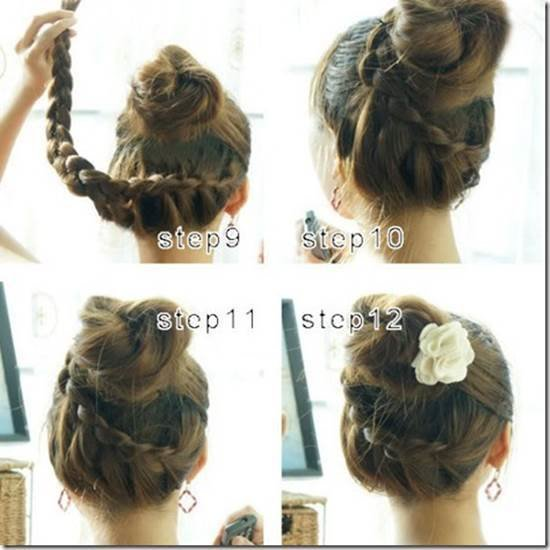 The Best How To Make Beautiful French Braids Updo Hairstyle Pictures