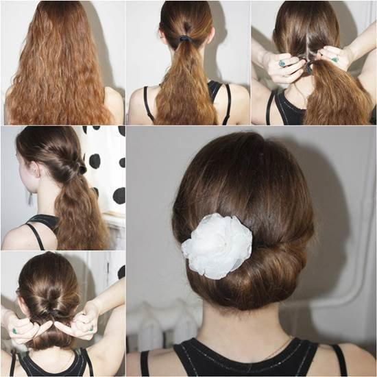 The Best How To Diy Easy And Elegant Bun Hairstyle Pictures