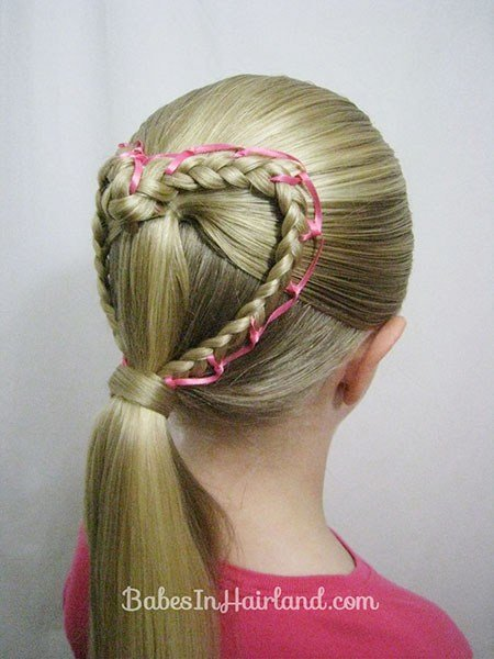 The Best 15 Adorable Valentine S Day Hairstyles For Girls I Heart Pictures