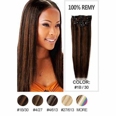 The Best Fashion Style Brazilian V*Rg*N Hair Clip In Extensions Pictures
