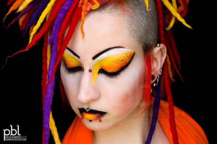 The Best Fire Up Your Hair For An Explosive Night Rainbow Hair Pictures