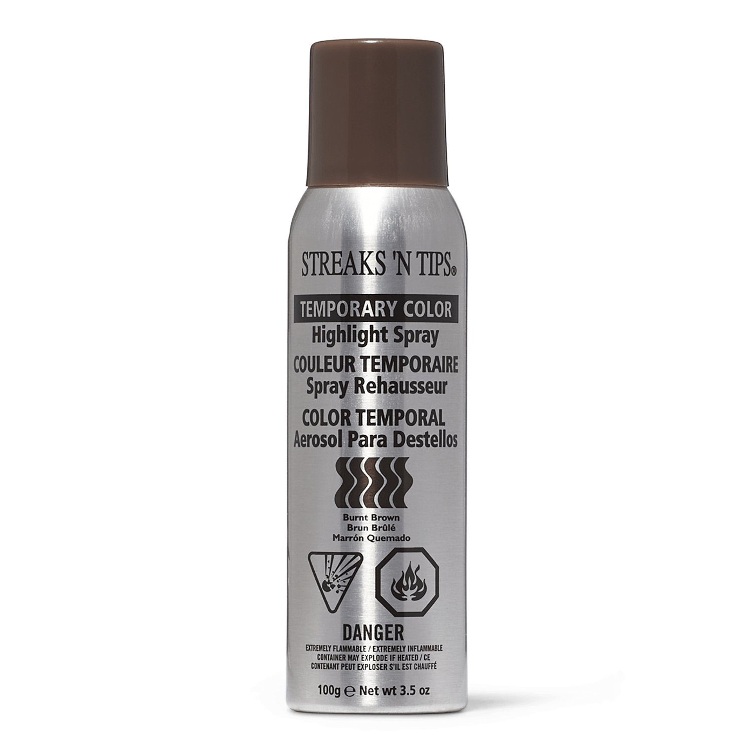 The Best Burnt Brown Temporary Highlight Color Spray By Streaks N Tips Temporary Hair Color Root Pictures