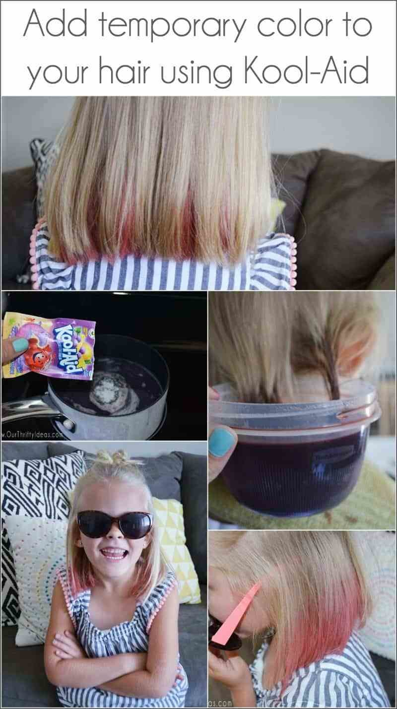 The Best How To Dye Your Hair With Kool Aid An Easy Way To Add Fun Pictures