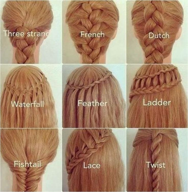 The Best The Many Types Of Braids Pictures