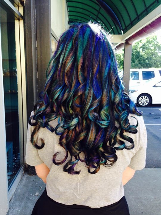 The Best The Stylist Called It Oil Slick The Meta Picture Pictures