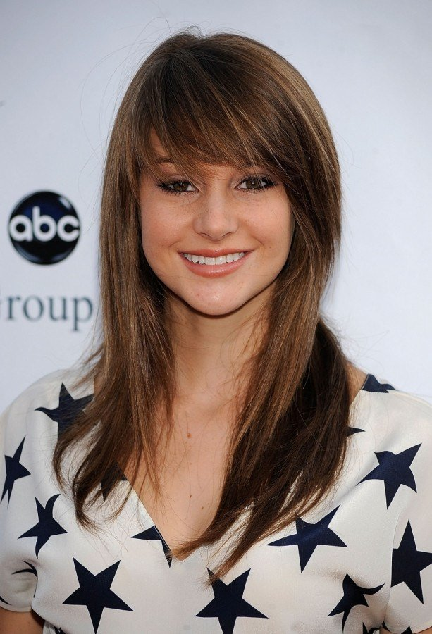 The Best Side Swept Bangs For A Square Face Women Hairstyles Pictures