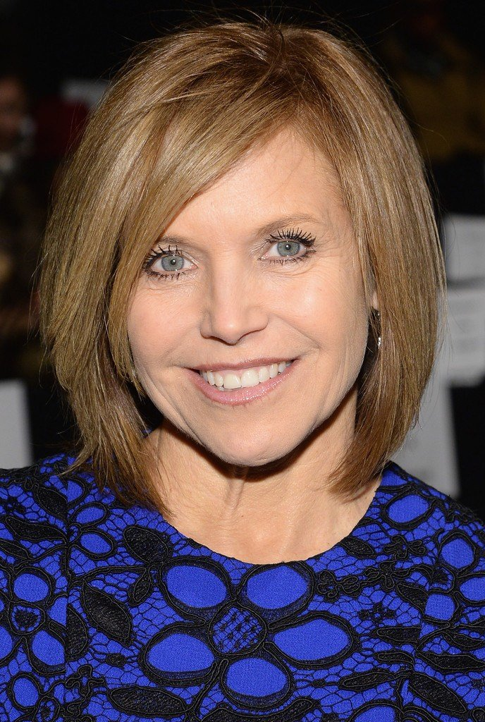 The Best Katie Couric In Front Row At The Carmen Marc Valvo Show Pictures