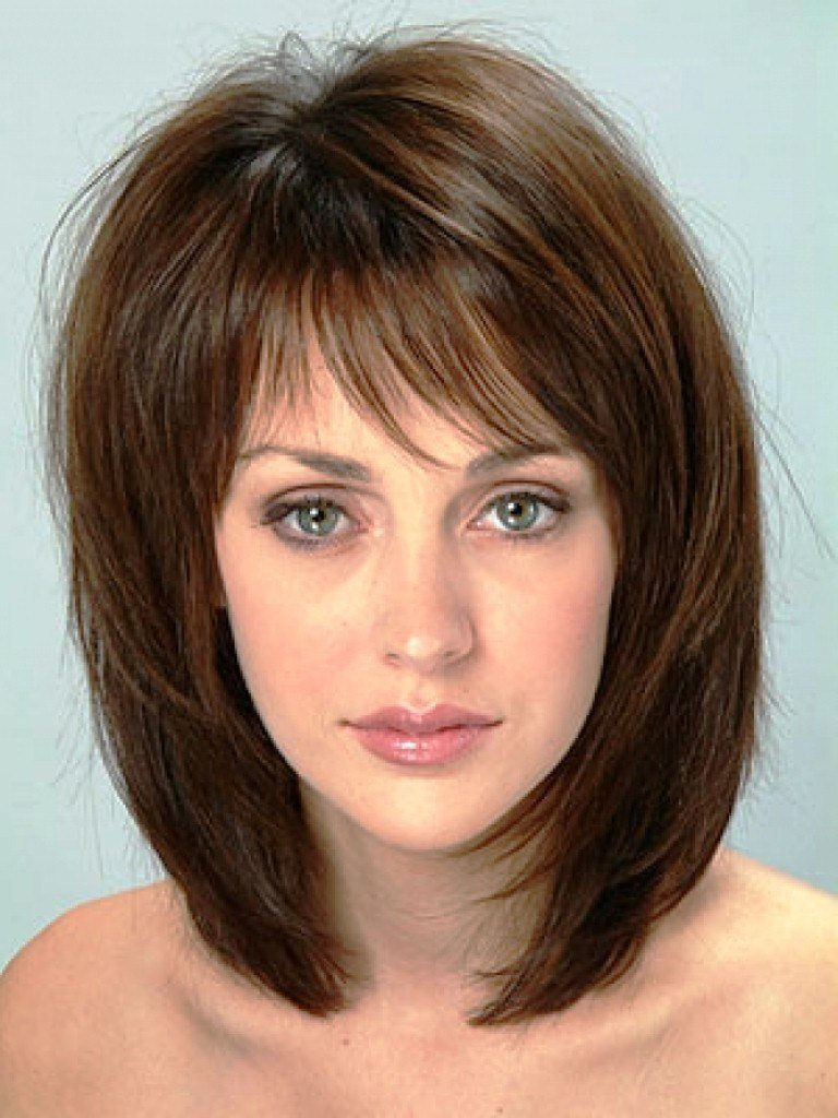 The Best 20 Medium Hairstyles For Round Faces Tips Magment Pictures