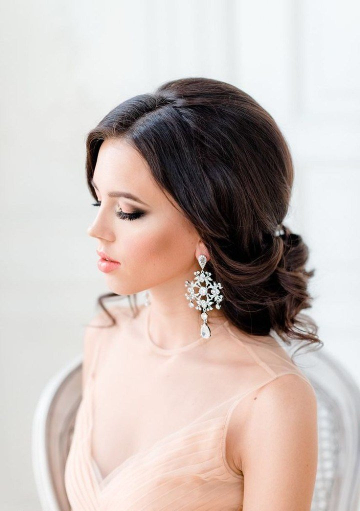 The Best 59 Medium Length Wedding Hairstyles For 2016 Magment Pictures