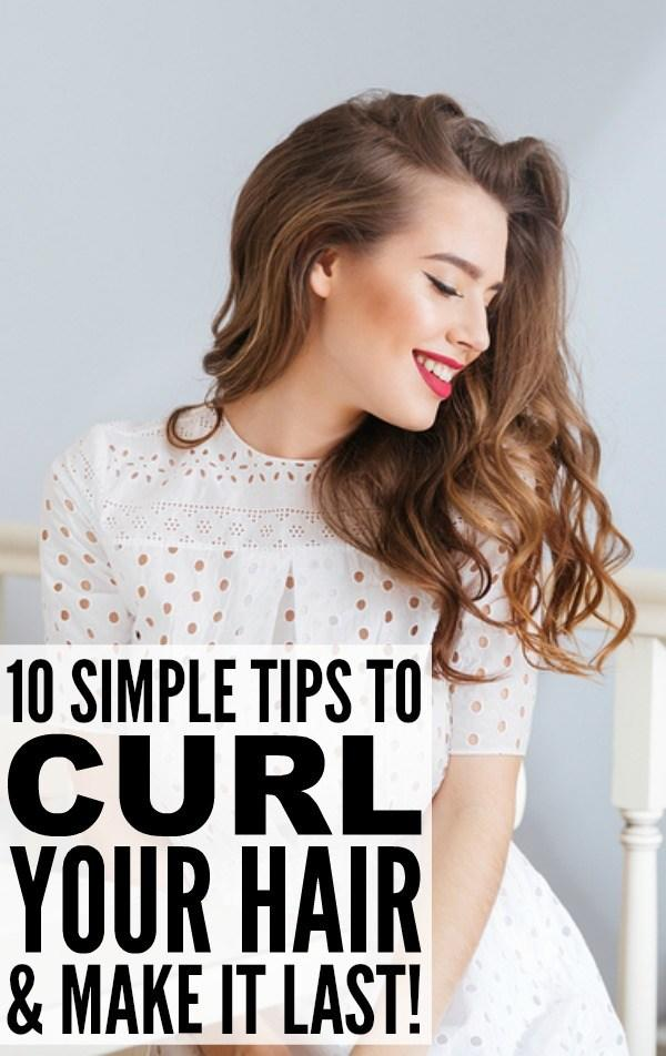 The Best 10 Tips To Teach You How To Curl Your Hair And Make It Last Pictures