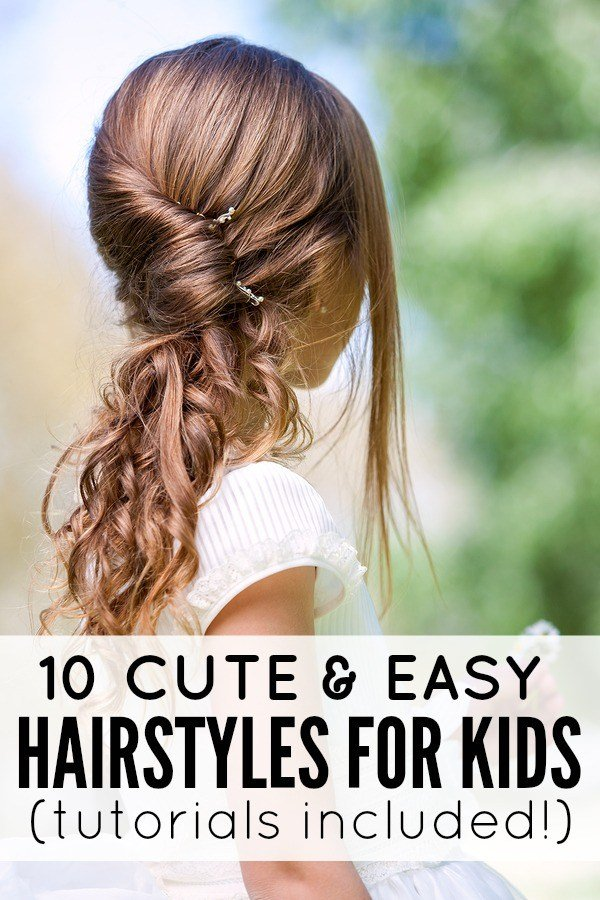 The Best 10 Cute And Easy Hairstyles For Kids Pictures