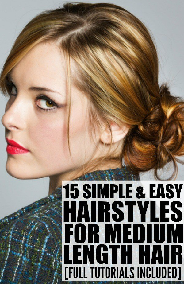 The Best 15 Hairstyles For Medium Length Hair Pictures