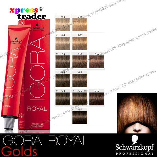The Best Schwarzkopf Professional Igora Royal Permanent Colour Hair Pictures