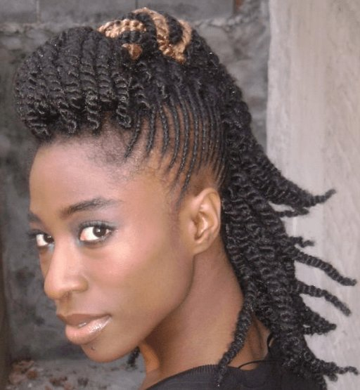 The Best 6 Edgy Braided Mohawk Hairstyles For Black Women In 2014 Pictures