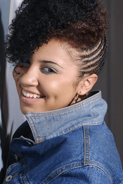 The Best Hottest Natural Hair Braids Styles For Black Women In 2015 Pictures
