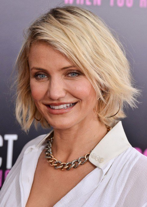 The Best Best Short Bob Hairstyles For Women Over 40 Cameron Diaz Pictures