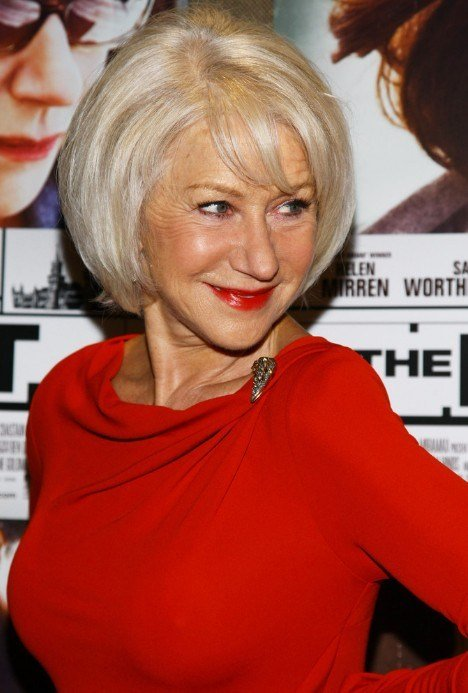 The Best Short Straight Bob Hairstyles For Older Women Over 60 Pictures