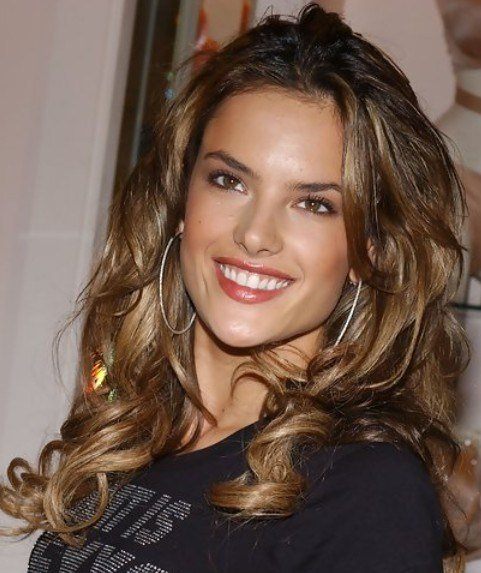 The Best 24 Alessandra Ambrosio Hairstyles Celebrity Alessandra Pictures