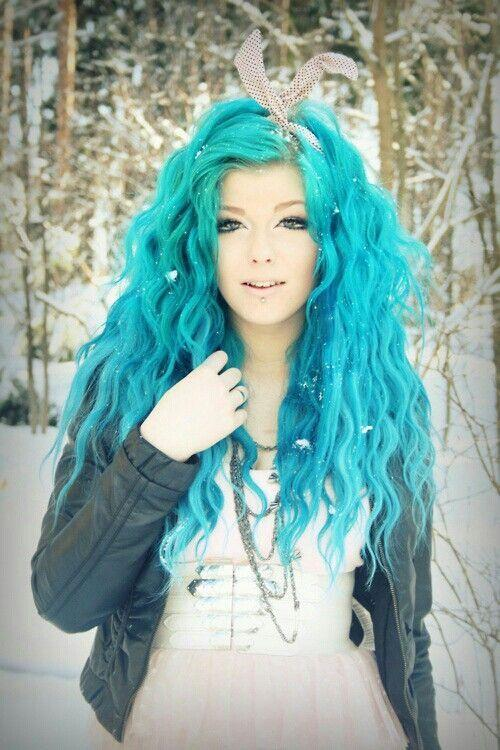 The Best Latest Hair Color Trend Dreamy Blue Hair Pretty Designs Pictures