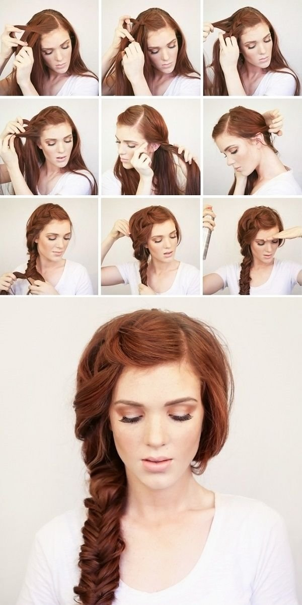 The Best Fashionable Hairstyle Tutorials For Long Thick Hair Pictures