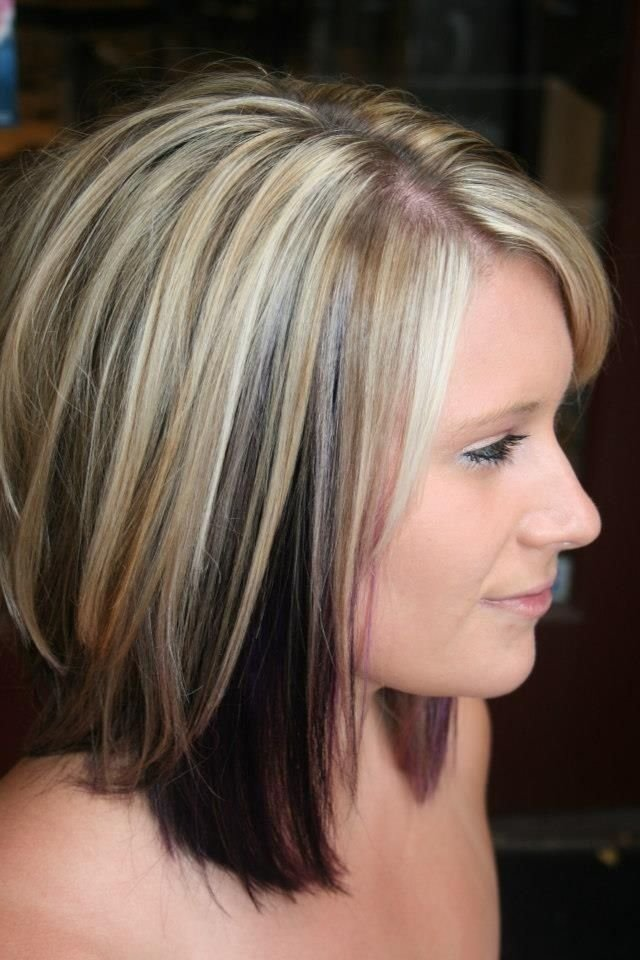 The Best 10 Two Tone Hairstyles You Must Love Pretty Designs Pictures