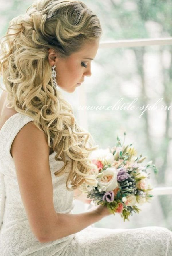The Best 23 Stunning Half Up Half Down Wedding Hairstyles Pretty Pictures