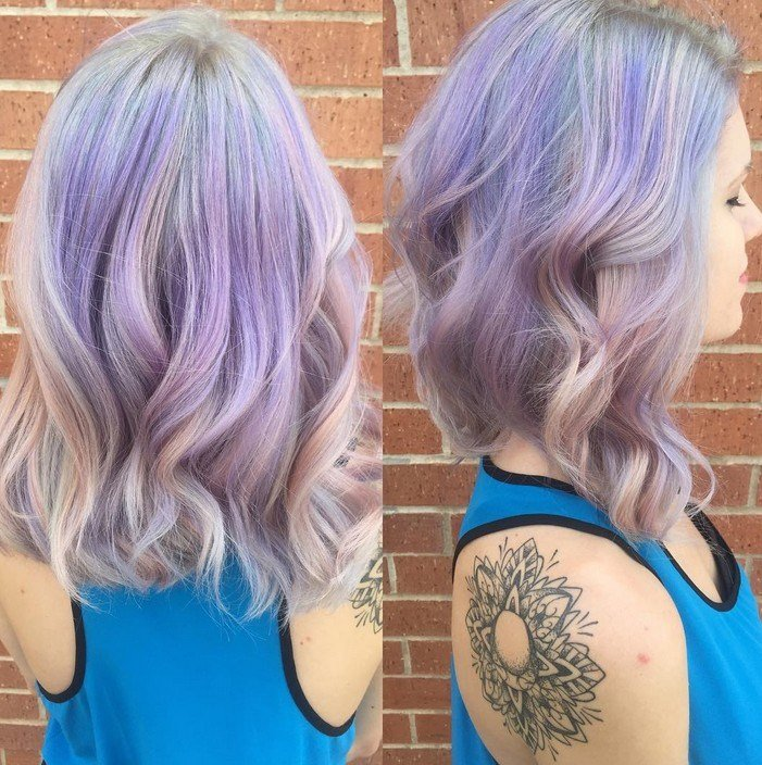 The Best 21 Gorgeous Pastel Purple Hairstyles Pretty Designs Pictures