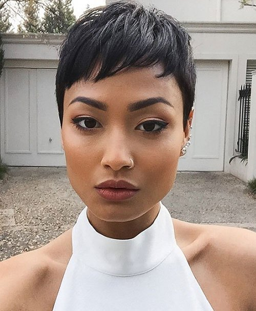 The Best 20 Trendy African American Pixie Cuts 2019 Pixie Cuts Pictures Original 1024 x 768