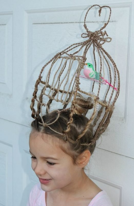 The Best Crazy Hair Day A Girl And A Glue Gun Pictures