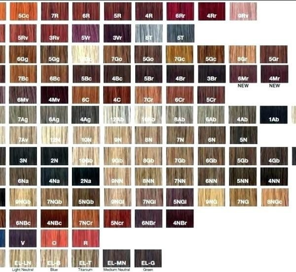The Best Paul Mitchell Color Chart Paul Mitchell The Color Xg Pictures