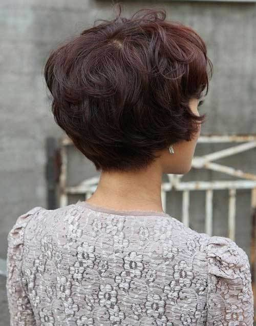 The Best 15 Layered Bob Back View Bob Hairstyles 2018 Short Hairstyles For Women Pictures