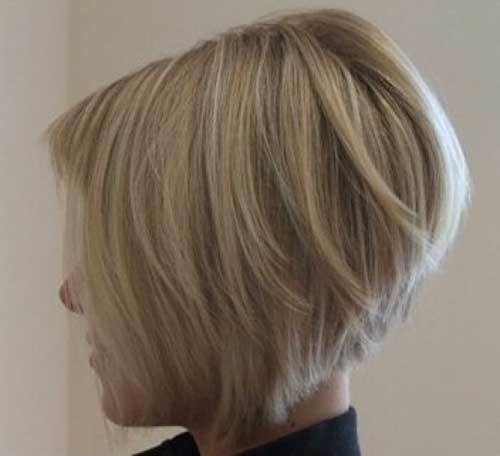 The Best 10 Best Stacked Bob Fine Hair Bob Hairstyles 2018 Pictures