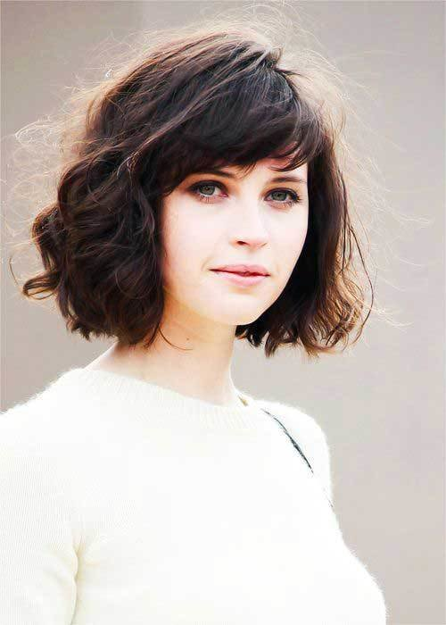 The Best 15 Messy Bob With Bangs Bob Hairstyles 2018 Short Pictures