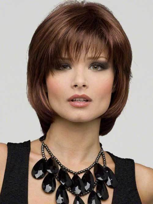 The Best 15 Medium Length Bob With Bangs Bob Hairstyles 2018 Pictures