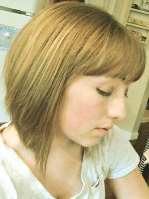 The Best 20 Angled Bobs With Bangs Bob Hairstyles 2018 Short Hairstyles For Women Pictures