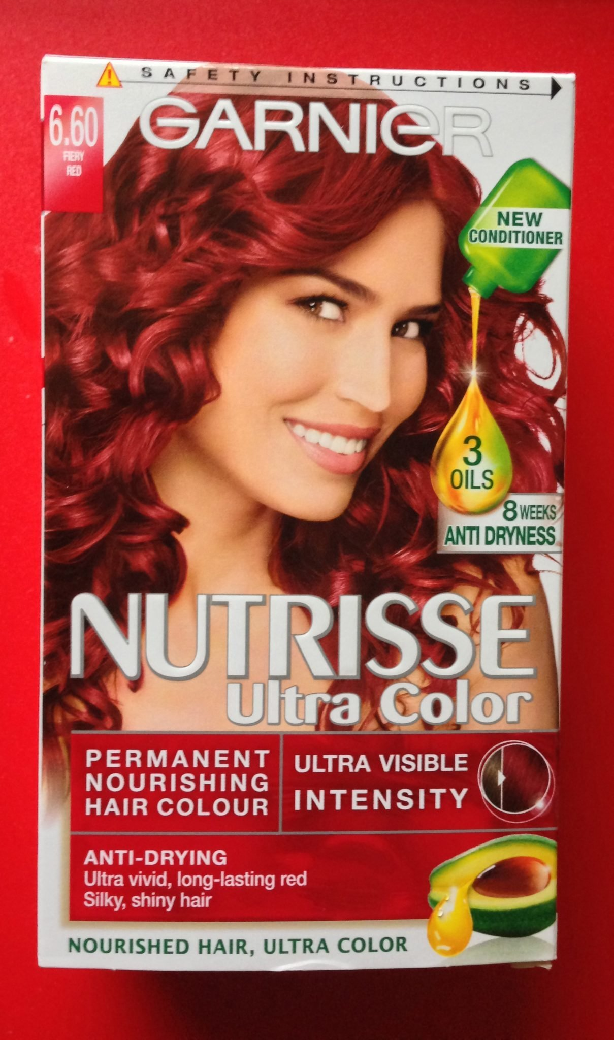 The Best Review Garnier Nutrisse Ultra Color Fiery Red 6 60 30Somethingmel Pictures