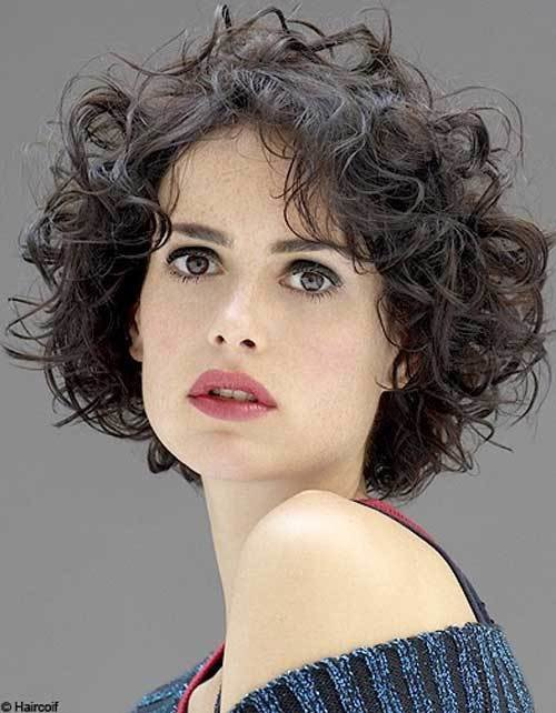 The Best 35 New Short Curly Hairstyles Short Hairstyles 2017 Pictures
