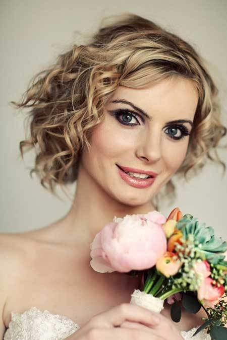 The Best Bridal Short Hairstyles Pictures Short Hairstyles 2018 Pictures
