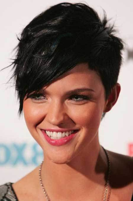 The Best Pictures Of Short Haircuts With Bangs Short Hairstyles Pictures