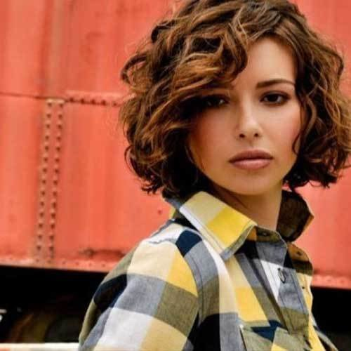 The Best 25 Short And Curly Hairstyles Short Hairstyles 2017 2018 Most Popular Short Hairstyles For Pictures
