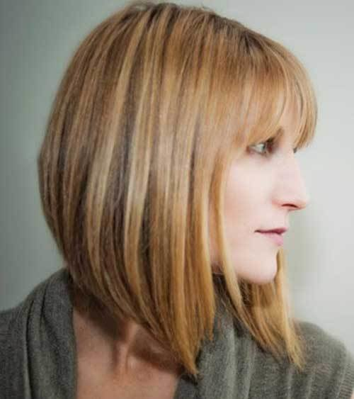 The Best Angled Bobs With Bangs Short Hairstyles 2018 2019 Most Popular Short Hairstyles For 2019 Pictures