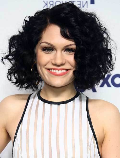 The Best Best Curly Short Hairstyles For Round Faces Short Pictures