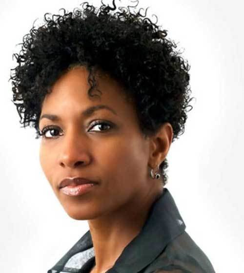 The Best Short Haircuts For Black Women Over 50 Short Hairstyles Pictures