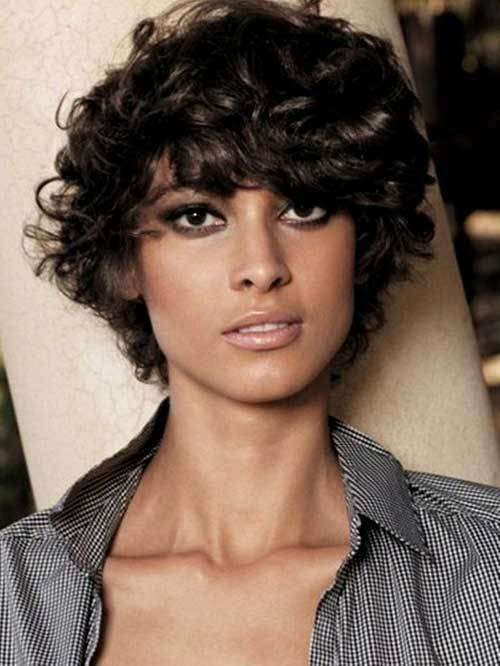 The Best Short Hairstyles For Curly Frizzy Hair Short Hairstyles Pictures